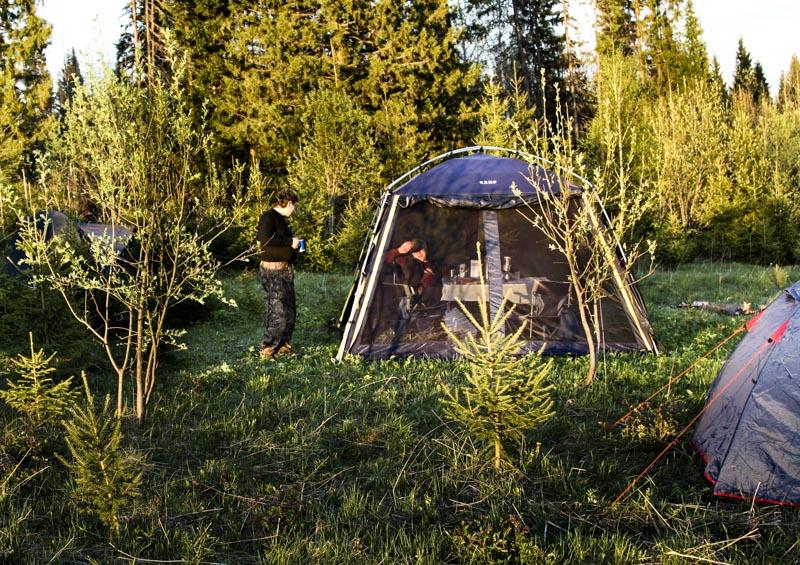 Лагерь в окрестностях деревни Молебка аномальная Зона М Пермский треугольник