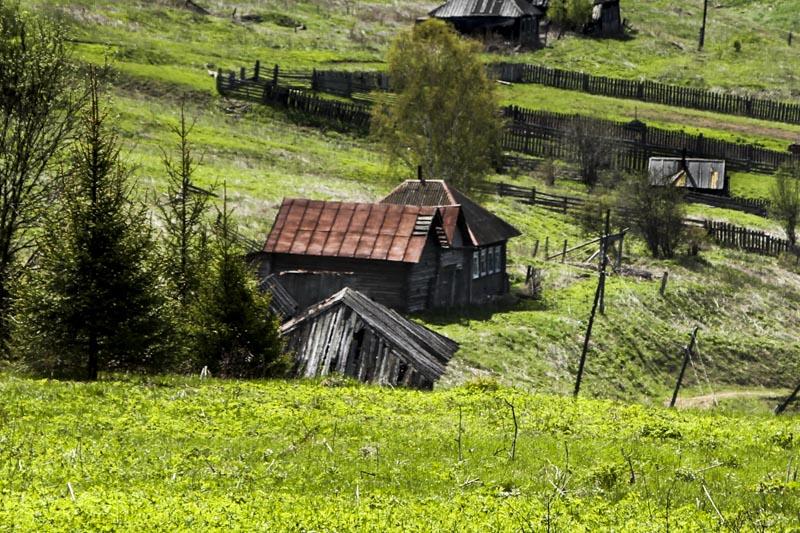 Деревня Молебка дом Эмиля Бачурина