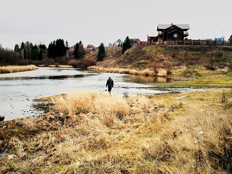 Устье реки Каменка