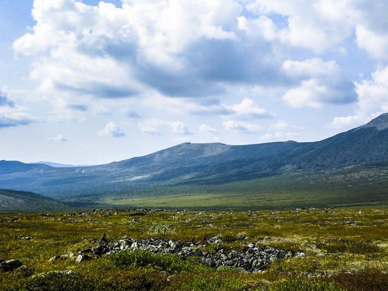 Северный Урал Летний пейзаж