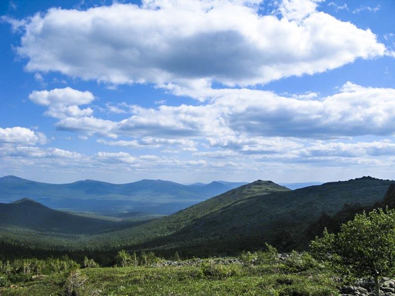 Вид с горы Конжаковский камень