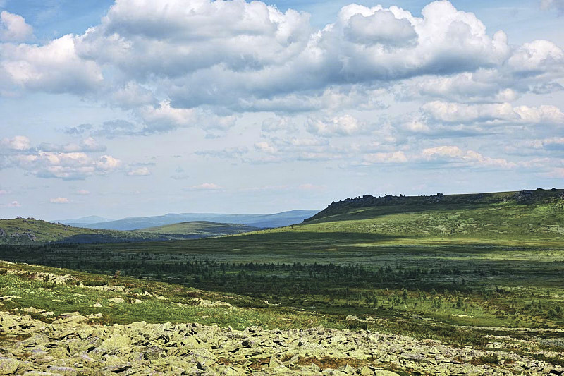 Долины Среднего Урала