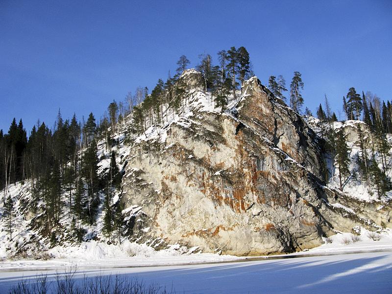 Скалы на Чусовой