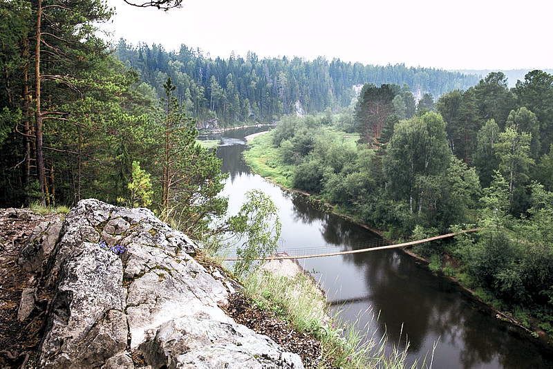 Мост через реку Серга