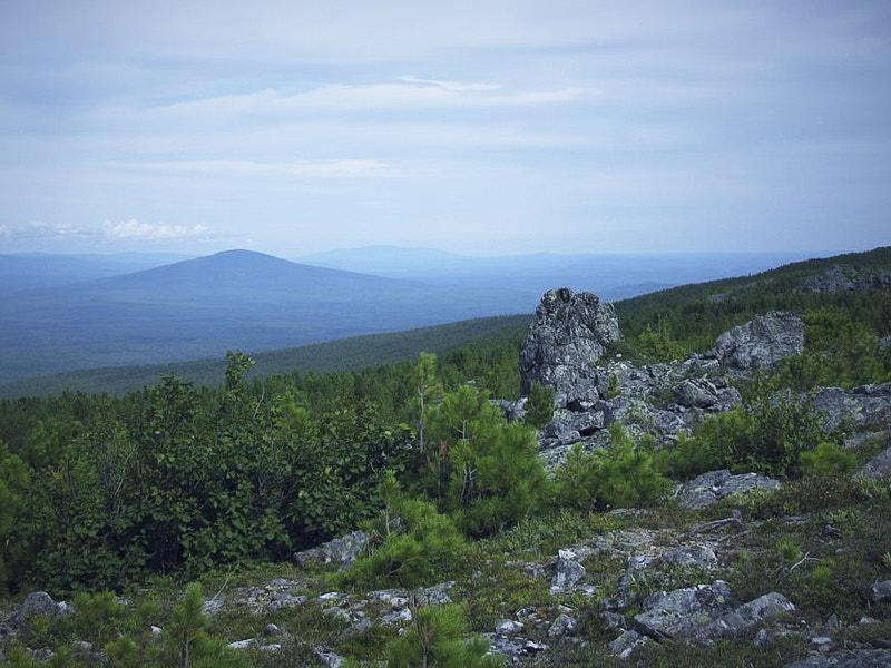 Вид на Средний Урал