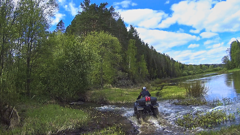 Устье рек Ишимовка и Сылва