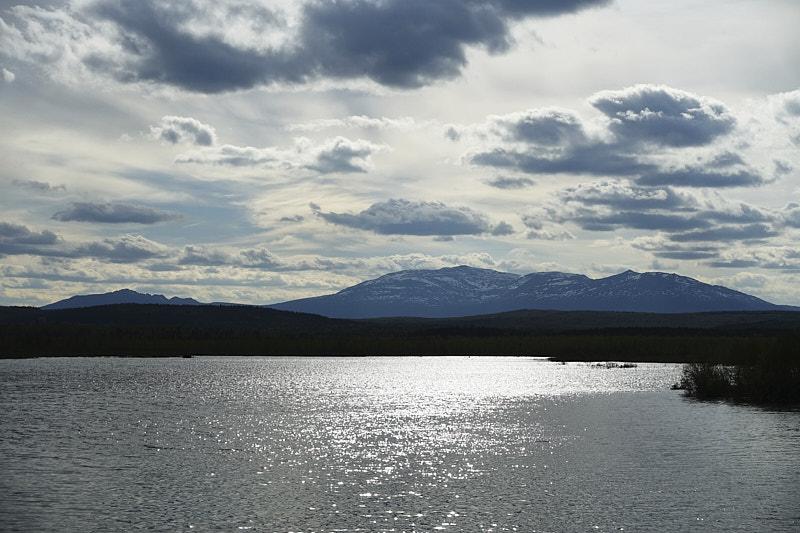 Река Сосьва и гора Денежкин Камень