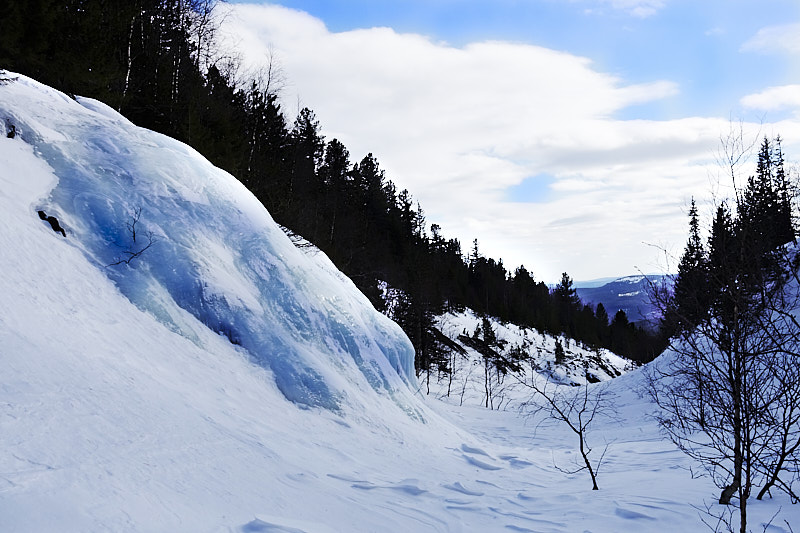 Ледяной водопад Северный Катышёр