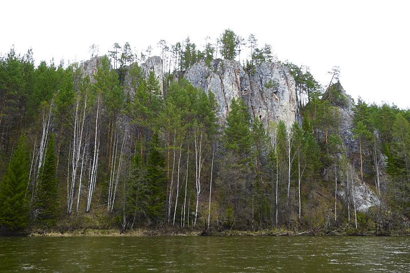 Урал река Ивдель