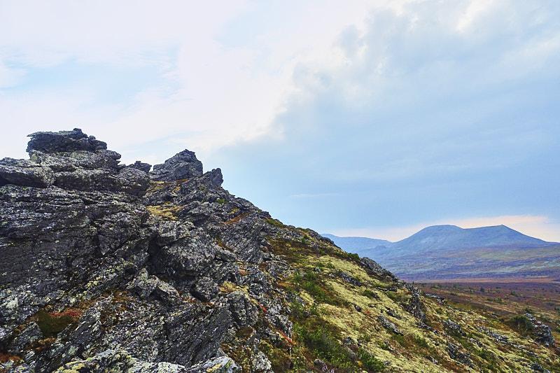 Останцы на хребет Ялпынг-Ньёр