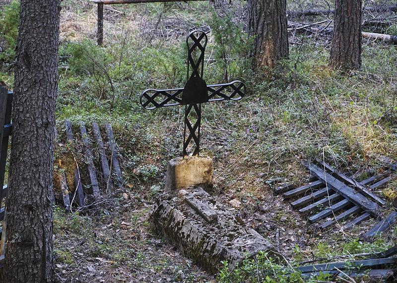 Мостовое кладбище в Пермской аномальной зоне
