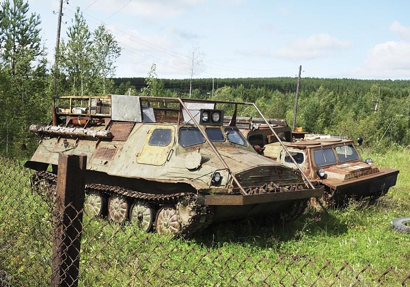 Геовездеход ГАЗ-71 в Зоне Молебский треугольник