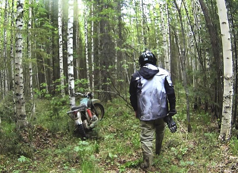 Мотоцикл Иж-Планета в Пермской аномальной зоне