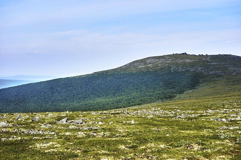 Вид с Перевала Дятлова