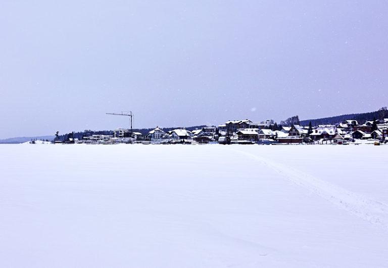Посёлок Таватуй зимой