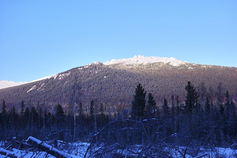 Гора Серебрянский Камень